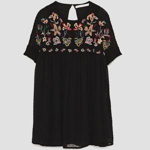 Zara Pants - Zara Embroidered Romper